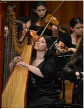 塞尔维亚竖琴演奏家